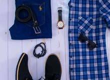 لبسه كامله بنطلون + تيشرت ماركه. Adidas و Nike
