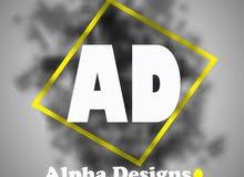 الفا ديزاين للتصميم الجرافيكي والرقمي