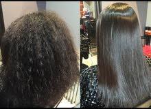 عمل بروتين سويسري اصلي 100% لمعالجة الشعر الجعد و يعالج تساقط الشعر بأيدي ماهرة .