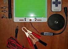 لد للرحلات أو لأماكن بدون تيار كهربائي ( 200 واط و 12 فولث )