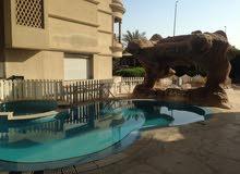 فيلا للايجار للمناسبات بالتجمع الخامس بحمام سباحة