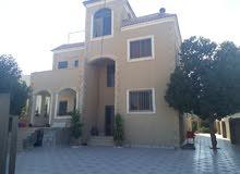 منزل للبيع نظام إسباني من الخارج ونظام أمريكي من الداخل مكون من طابقين