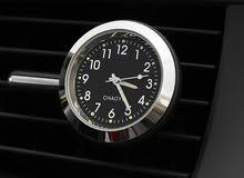 ساعة جديدة لزينة السيارة مع البطارية وضمان شهرين