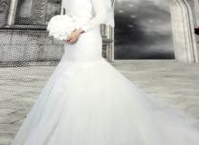 فستان زفاف استعمال مرة واحدة