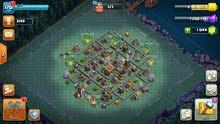 قرية كلاش أوف كلانس مستوى 12 جيش نصه ماكس مباني كلها  ماكس والدفاعات قريب الماكس