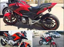 Used Honda motorbike up for sale in Amman