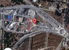 ارض للبيع قرب مدارس البكالوريا مساحه دونم و 100 متر على شارعين موقع مميز جدا