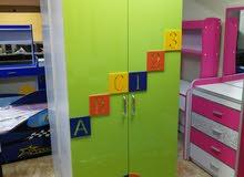 خزانة أطفال درفتين
