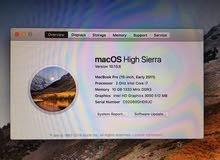 MacBook Pro Early 2011 / جهاز ماك بوك برو بحاله جيدة للبيع