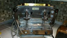 ماكنة قهوة ستانلس ستيل درجة اولى جديدة FAEMA ايطالي