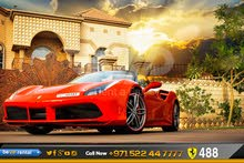 For rent a Ferrari 458 Italia 2016