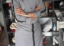 شيف بيتزا ايطالي +كريب+ومناقيش+فطائر تركيا +باستا +تجهيزات