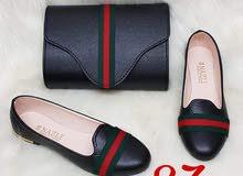 سيت حذاء+جنطة (تركي اصلي)يوجد خدمه توصيل