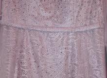 فستان سهرة تركي للبيع مقاس 42بسعر 45د