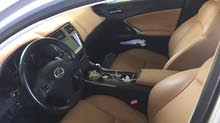 Silver Lexus IS 2008 for sale