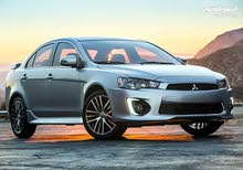 For a Month rental period, reserve a Mitsubishi Lancer 2016