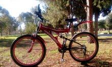 دراجه هوائية جبليه اصليه 26 بحاله ممتاره