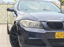 Blue BMW 320 2007 for sale