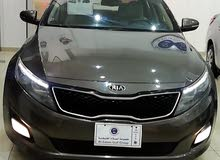 Brown Kia Optima 2015 for sale