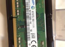 رام لابتوب  RAM 4GB samsung
