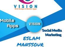شركة متخصصة في تصميم المواقع والتطبيقات