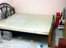 For sell Big size bed+ cupboards+ furniture chairs.
