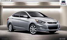 Good price Hyundai Accent rental