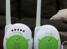 Portable baby monitor JOYCARE جهاز مراقبة الطفل