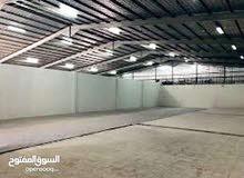 لايجار مخزن 10000 متر مرخص مخزن يصلح جميع الأنشطة التخزينية