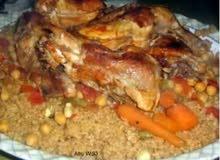 عمل طبخات اردنية
