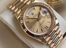 عرض مميز ساعة رولكس بالعلبه الاصلى للتميز وبسعر رائع