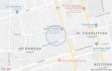 عمارة في الروضه جنوب شارع الكيال غرب طريق المدينه