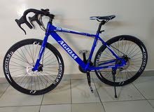 Full alloy road bicycle