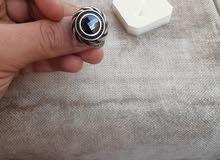 خاتم فضة تركي تصميم مميز