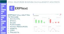 ERPNext - COMPLETE ACCOUNTING & MANAGMENT SYSTEM