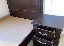 غرفة نوم كاملة فوق الممتازة+مرتبة  (زي ما هتشتريها من المحل) 120*200