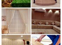 i Will making sofa curtain wallpaper grass carpet