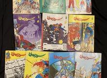 للبيع مجلات سوبرمان 68 مجلة اصدار الثمانينات و التسعينات
