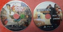 Battlefield Hardline ps3 disk , kong fu Rider Vr move ps3 disk
