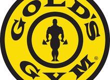 اشتراك 6 اشهر Gold's Gym