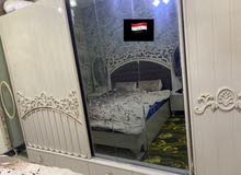 غرفة نوم مستعمله استعمال بسيط نوع الغرفة ماعرفه بالضبط تسعه قطع