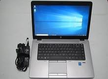 HP ELITEBOOK 850 G1 كور i7 جيل رابع رمات 8 جيجا هارد 1000 ب2 كارت شاشه
