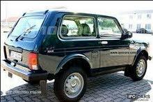مطلوب سيارة لادا نفيا 1996 لغايات قطع الغيار