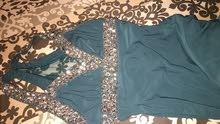 فستان ازرق واسود عدد 2