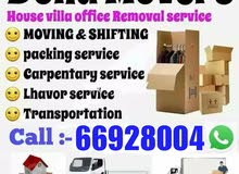 House office villa moving shifting packing &carpenter service.
