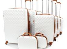 طقم حقائب سفر, عصري ومناسب لجميع رحلاتك وتنقلاتك براحة وسهوله