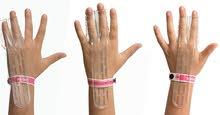 غطاء اليد للاصابع المجاورة  لحماية اسنان الطفل