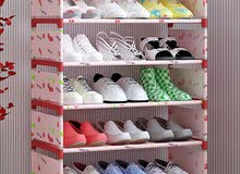 Simple Style Multi-Layer Shoes Rack
