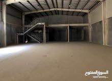لايجار مصنع ومخزن 2000 متر 1000متر المنيوم