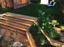 تصميم وتنفيذ حدائق بالرياض